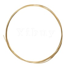 Yibuy Gold 8ft Guitar Fret Wire For Electric 2.3mm