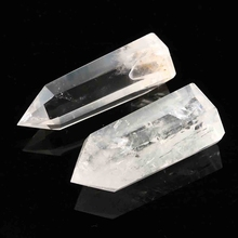 Natural Clear Quartz Healing Crystals 2 pcs Set