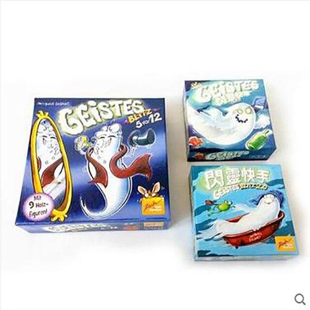 Geistesblitz: 1/2/3/4 Board Game Funny Cards Games