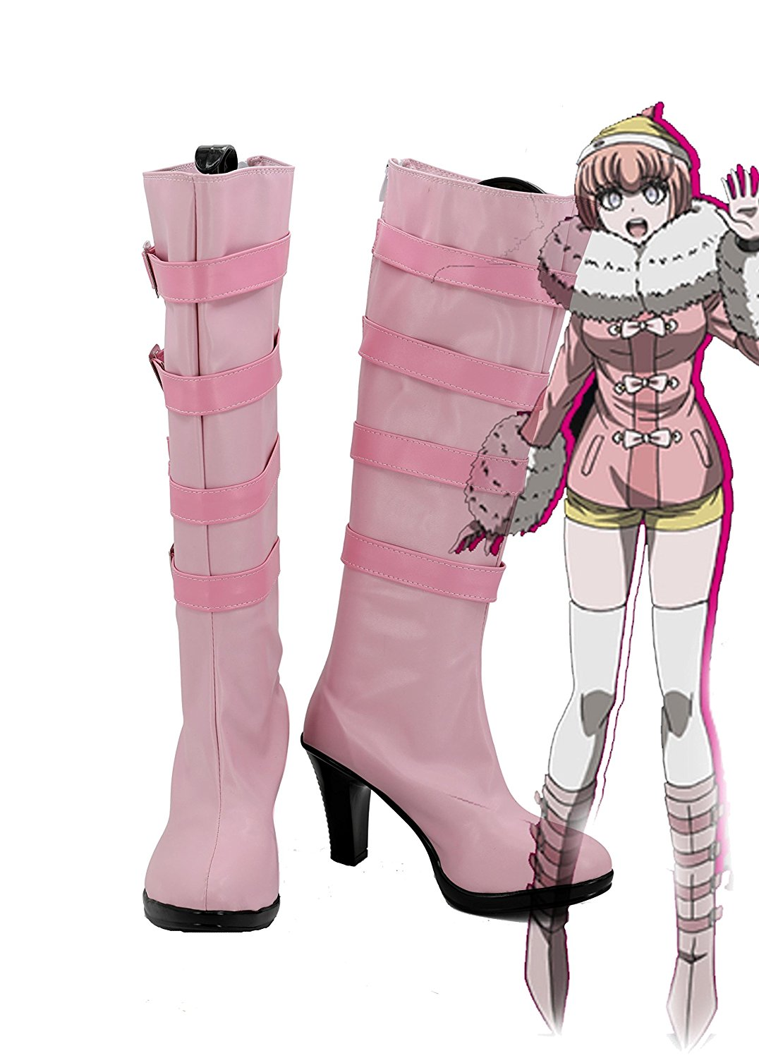 Danganronpa 3 Ruruka Ando Cosplay Boots Shoes High Heel Custom Made