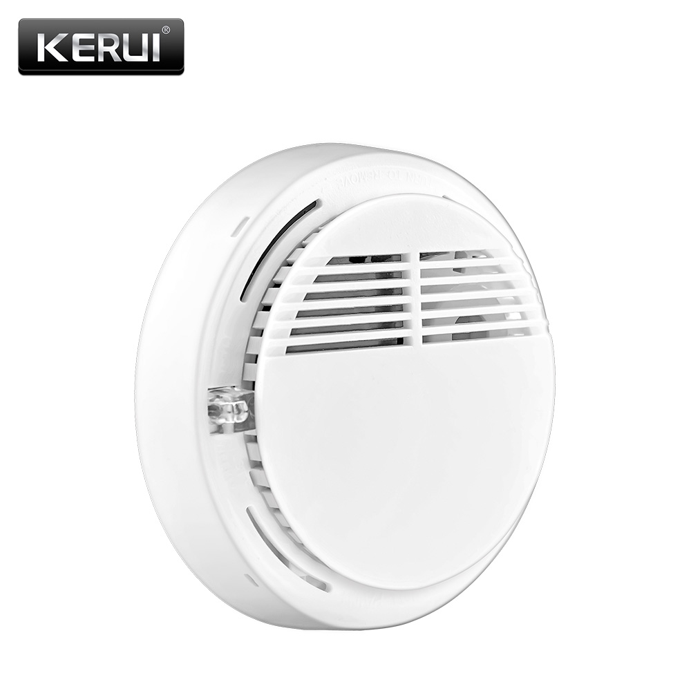 Wireless Alarm Security Smoke Fire Detector / Sensor For all GSM Alarm System For Home House Office купить амарант валентина и крепыш