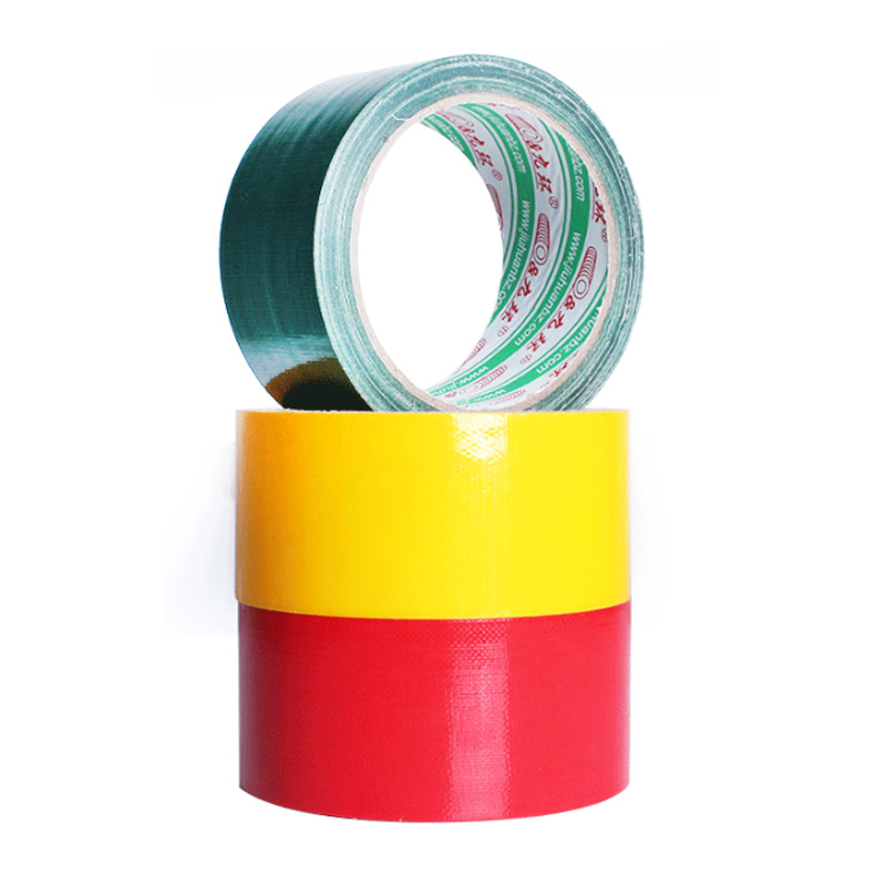 Red Yellow Green Cloth Duct Tape Carpet Floor Waterproof