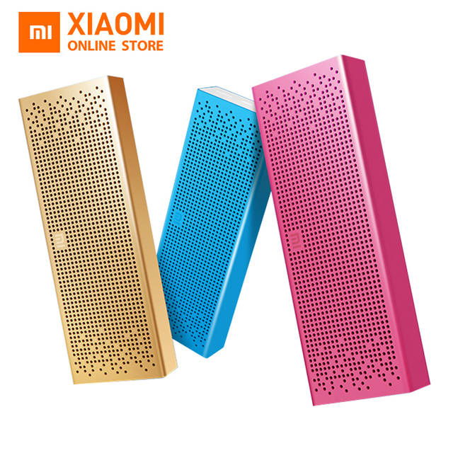 Original Xiaomi Bluetooth Mini Speaker Wireless metel Stereo Portable MP3 Player Handsfree Call Support TF Card  3D Subwoofer
