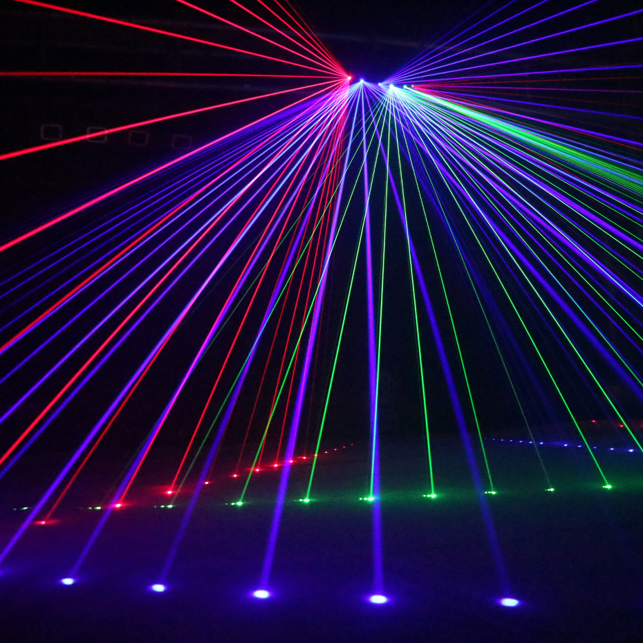 Image 5 - ALIEN RGB Full Color Beam Line Scanner DMX Stage Laser Projector Lighting Effect DJ Disco Party Holiday Dance Christmas Lights-in Stage Lighting Effect from Lights & Lighting