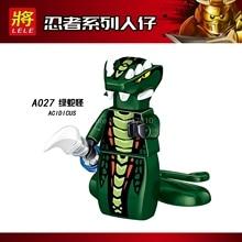 Legoing Ninjago Building Blocks Samukai Lloyd Jay Harumi Skylor Kai Zane Skullbreaker Iron Baron Legoings Figures Toys For Child(China)