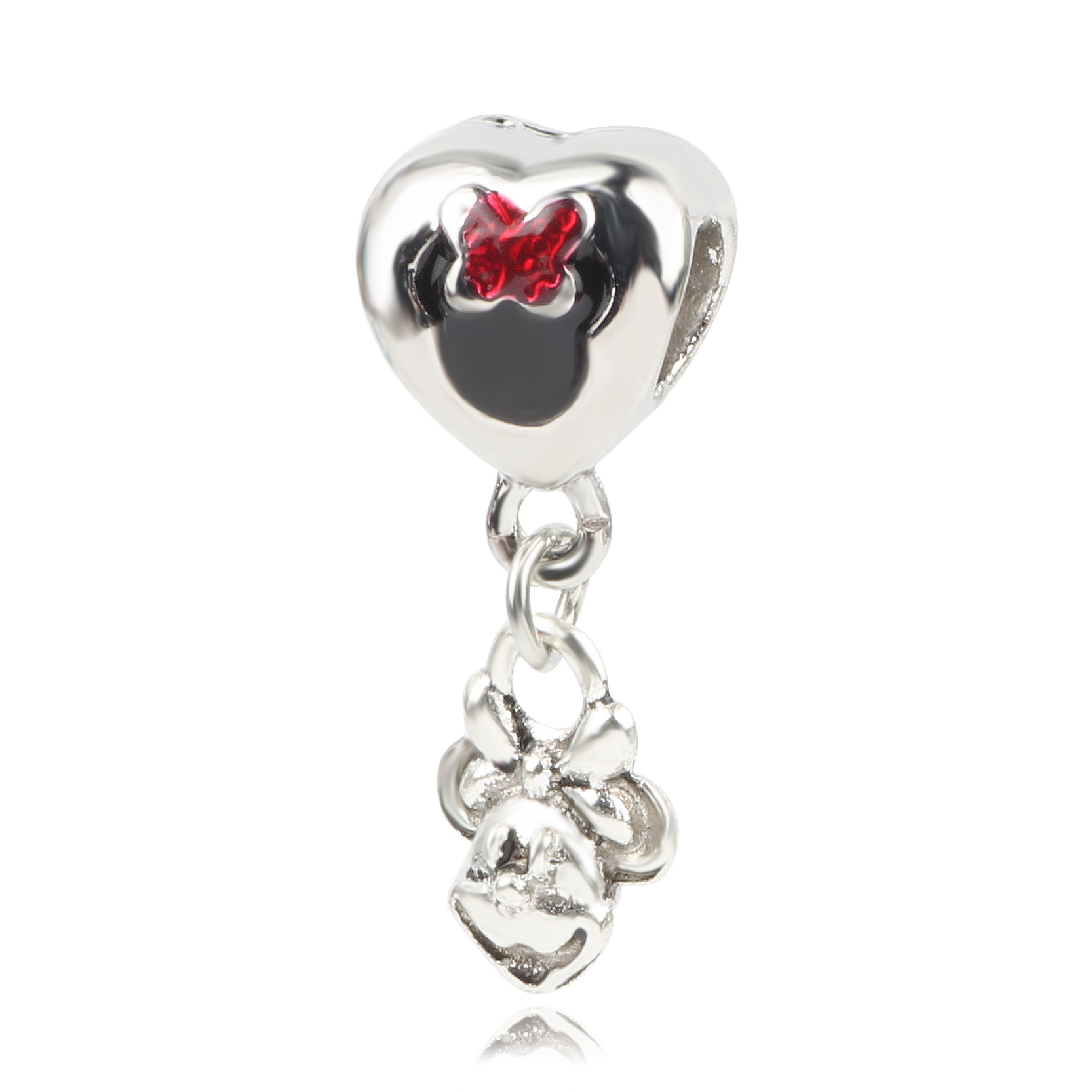 New Original Silver Bead MOM Scooter Dinosaur Fish Fan Castle Bear Pendant Charm Fit Pandora Bracelet Necklace DIY Women Jewelry in Beads from Jewelry Accessories