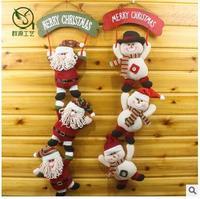 Adornos Navidad 2018 Fashion Christmas Snowman Santa Claus Christmas Doll Christmas Gifts Christmas Decoration For Home