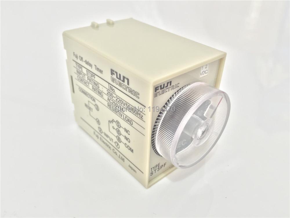 1pcs/Lot ST3PF DC 24V 30S Power Off Delay Timer Time Relay 24VDC 30sec 0-30 second  8 Pins ноутбук asus zenbook ux530uq fy063r