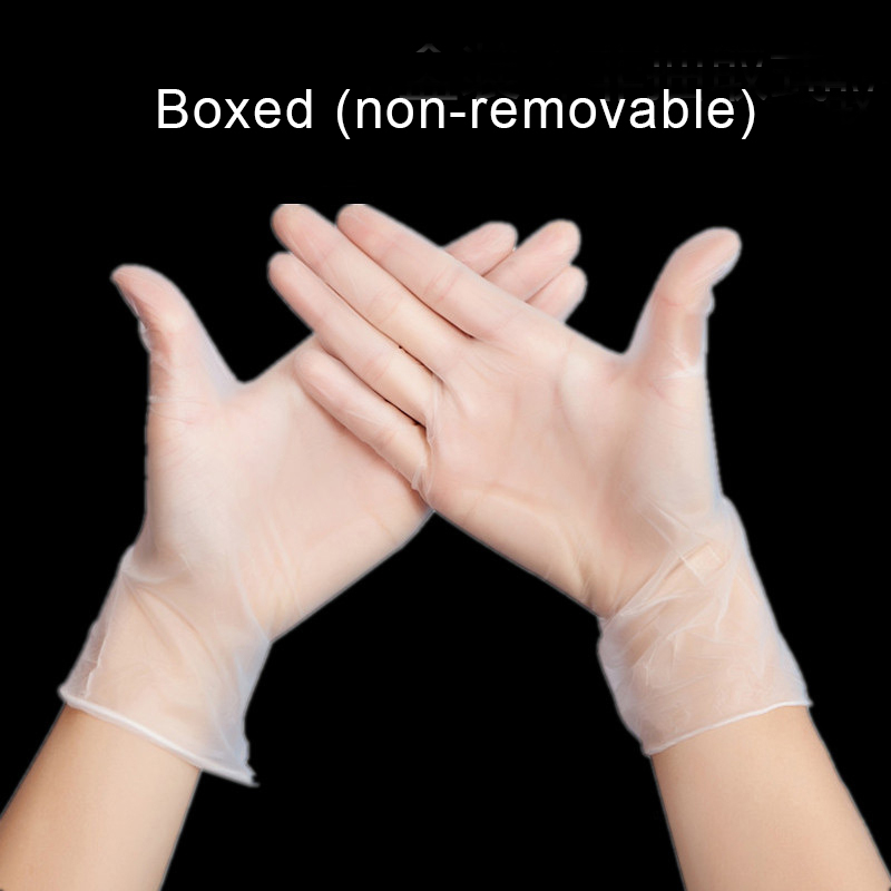 10pcs/Bag Disposable Rubber Surgery Latex Medical Gloves White Inspection Experiment Thick Acid And Alkali Labor Insurance Pvc