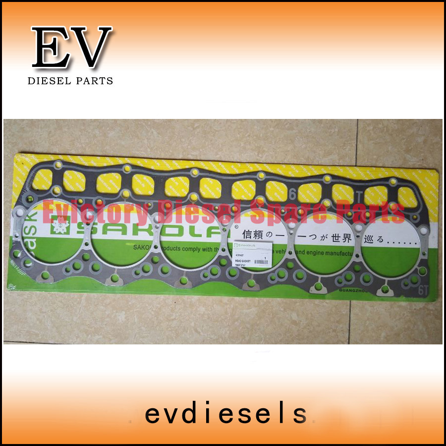 For Mitsubishi engine 6D16 6D16T cylinder head gasket For Mitsubishi engine 6D16 6D16T cylinder head gasket