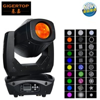 Gigertop TP L200S 200W Led Moving Head Light 3IN1 Function Wash/Beam/Gobo Copper Pipe Heat Dissipation 18 DMX Channels CE ROHS