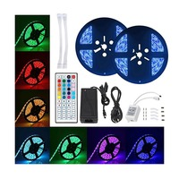 DC12V IP65 waterproof led strip RGB 300led 10m SMD5050 with WIFI remote