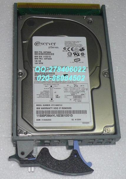 3 years warranty  100%New and original   00P2665 26K5294 146G 10K SCSI 3275