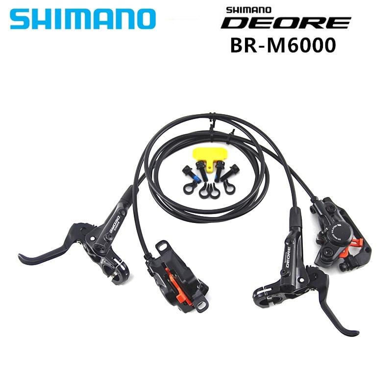 SHIMANO DEORE M6000 Brake Mountain Bikes Hidraulic Disc Brake MTB BR BL M6000 800 1400 Left