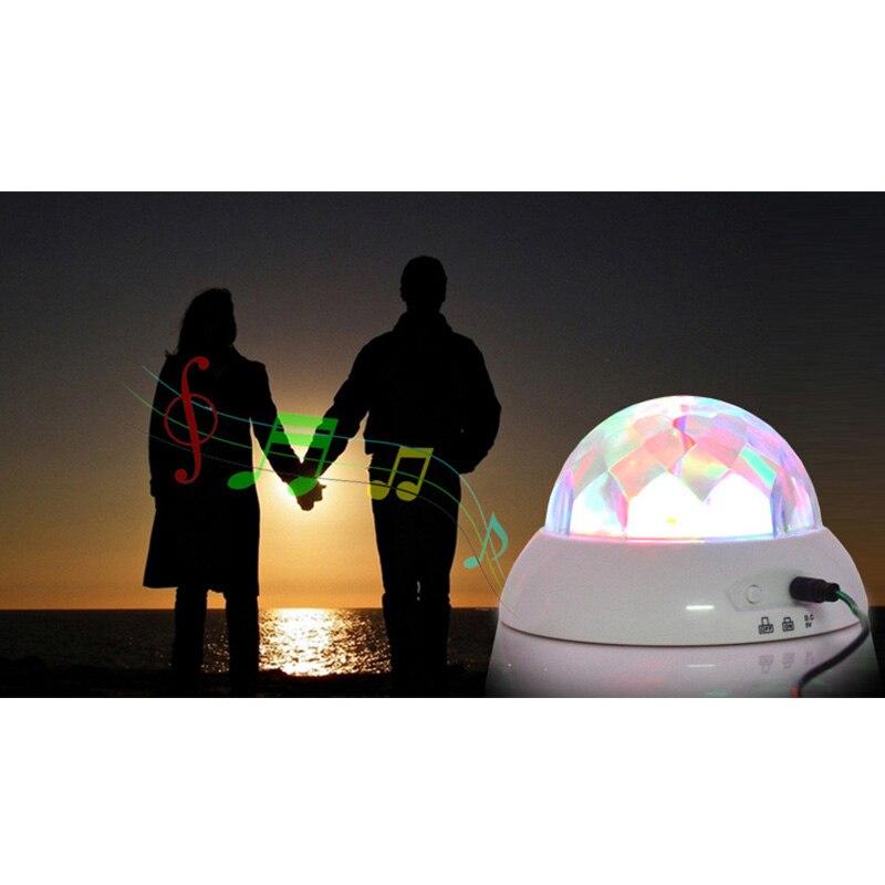 2018 Romance Tournant Musique Projecteur Décoration Avec USB De Charge Pour Festival Cadeau Night Light