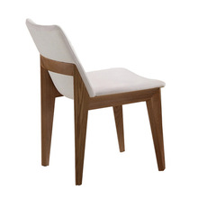 Cafe Chairs Cafe Furniture solid wood +cotton fabric coffee chair dining chair chaise nordic furniture minimalist modern new(China)