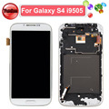 100% Test OK LCD for Samsung Galaxy S4 GT-i9505 LCD Display Assembly with Frame White and Dark Blue