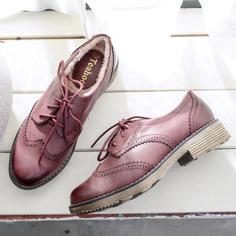 Aliexpress.com : Buy Teahoo Oxford Shoes for Women 2018 ...