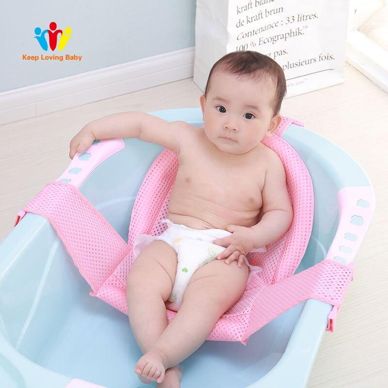 Inflatable Baby Bathtub Cartoon Safety Inflating Bath Tub for ...