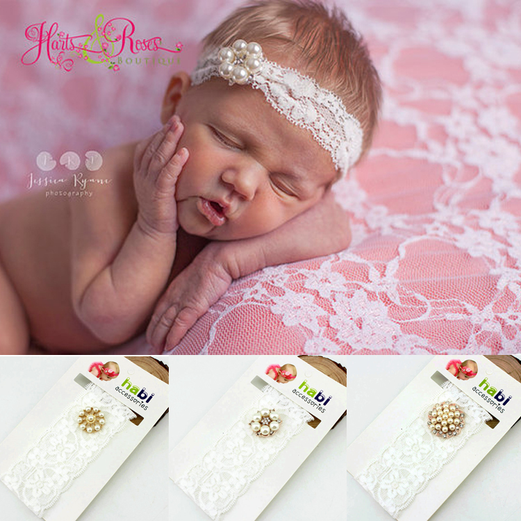 1 pieces new 2016 fashion baby headband rhinestone lace 1 pieces new 2016 fashion baby headband rhinestone lace