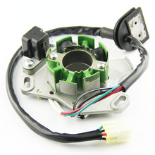 цена на Motorcycle Ignition Magneto Stator Coil for SUZUKI RM125 2002 2003 2004 Magneto Engine Stator Generator Coil