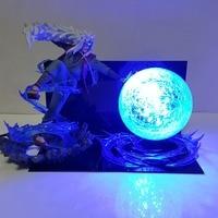 Venta Lámpara Led de noche Naruto Jiraiya Rasengan lámpara de escritorio de Anime Naruto Shippuden Jiraiya bombilla