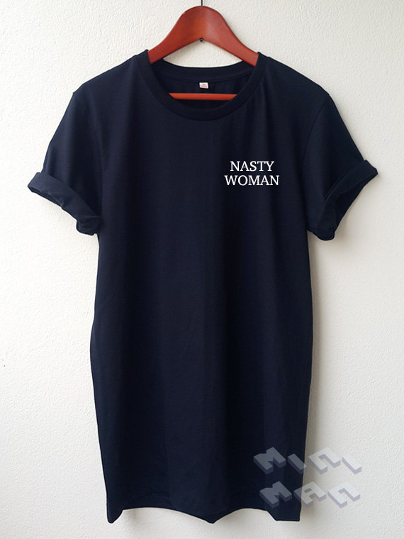 dc7d51b6aa6ae Nasty Woman Embroidery T Shirt ... quote tee Embroidery Shirt Unisex shirt  S M L Tumblr Pinterest C610-in T-Shirts from Women s Clothing on  Aliexpress.com ...