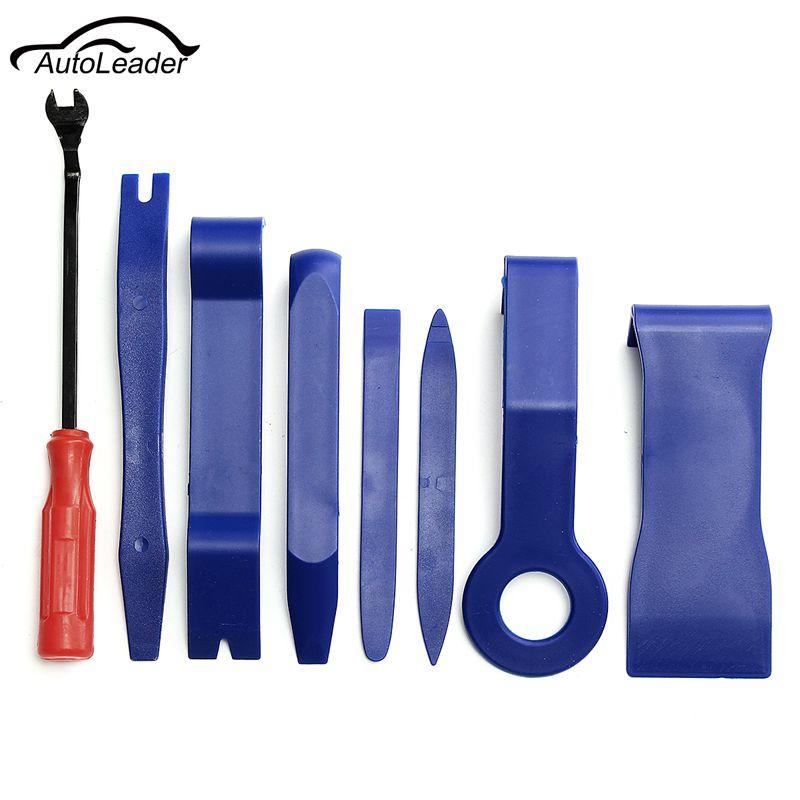 Good Price Car Interior/Exterior Remover Hard Plastic Auto Trim & Molding Set Open Removal Tools Nylon Pry Bars
