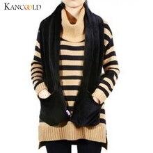 KANCOOLD шарф женский s Зимний модный электрический шарф с подогревом шаль Теплый шеи Портативный USB мягкий уличный шарф женский 2018Nov8