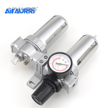 Luftkompressorregler | SFC-200 SFC-300 SFC-400 Luft Kompressor Luftfilter Regler Öl Wasser Separator Falle Filter Regler Ventil Automatische Ablauf