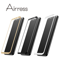 Airress For Samsung Galaxy S8 Galaxy S8 Plus HD Full Covered 3D Curved Tempered Glass Screen