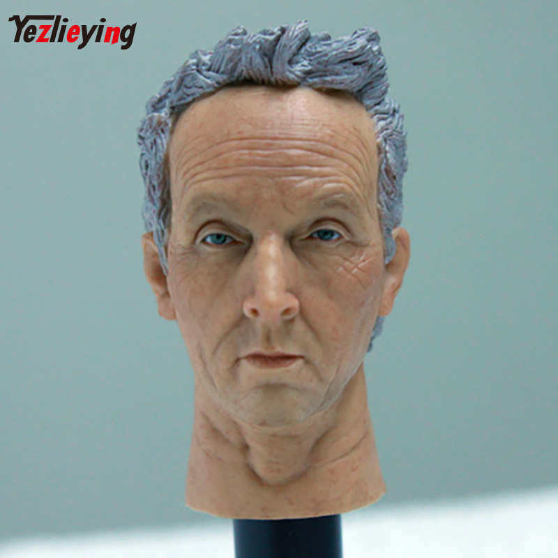 Headplay 1/6 Scale Accessories Male Head Sculpt HP-0072 Tobin Bell Carving Model Fit 12 Phicen Figure Doll Body Toys As Gift 1 6 scale european male head sculpt model headplay without neck for 12 action figure body figure