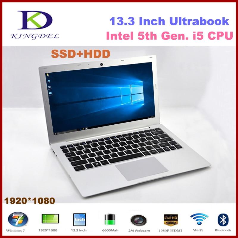 2015 Newest Laptop Computer Notebook, Intel i5-5200U Dual Core CPU, 4GB RAM 64GB SSD+1TB HDD,1080P, WIFI, Bluetooth, Metal Case