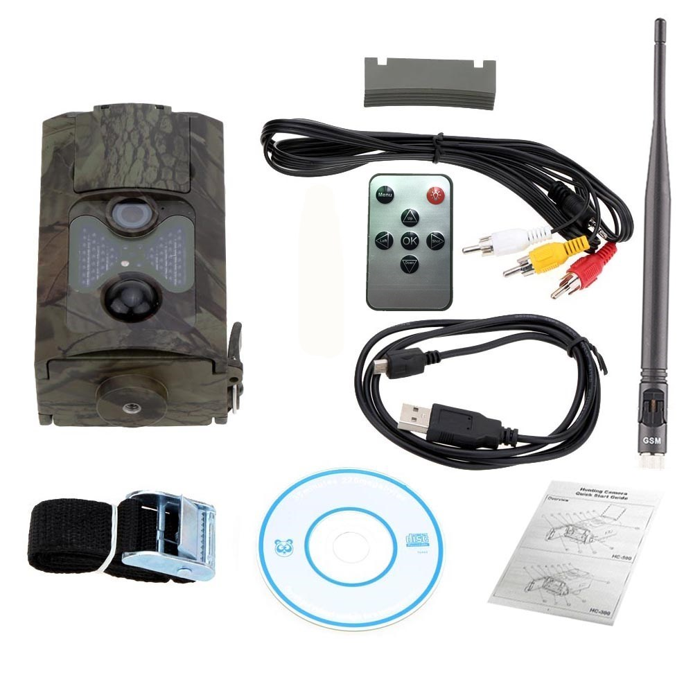 Hunting Camera HC-500M Infrared Photo Trap Digital Trail Camera HC500m Hunting Camera with 48pcs Night Vision Infrared LEDs cam (2)
