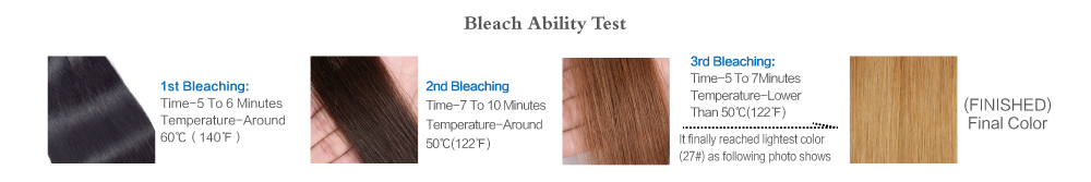 hair bleach ability