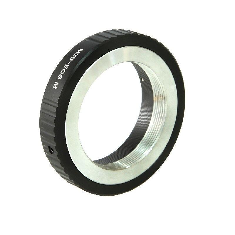 L39 M39 39mm Lens to EOSM EF-M Mirrorless Camera Body Adapter Ring EOSM/M2/M3/M10
