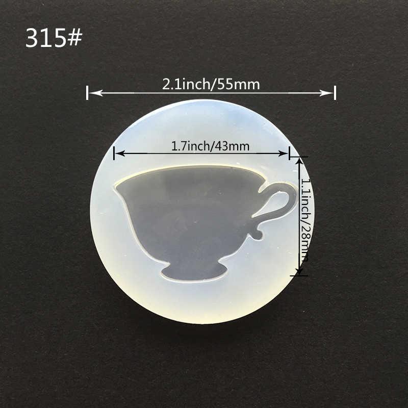 TJP 1 sztuk wieża kości planeta filiżanka czarownica płynnego silikonu formy DIY biżuteria z żywicy wisiorek formy formy żywiczne na narzędzie do wyrobu biżuterii