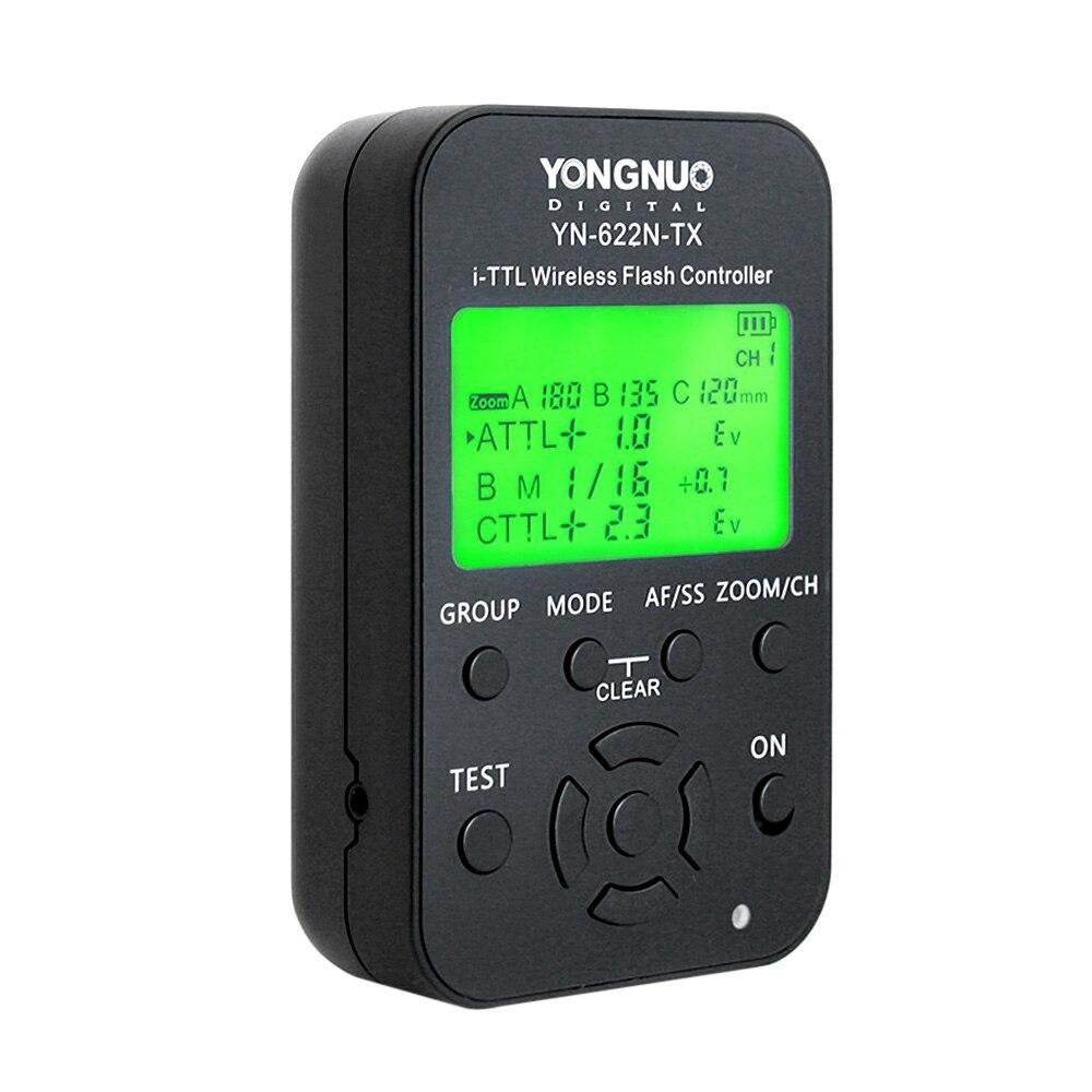 Yongnuo YN YN-622N-TX YN622N-TX 622N TX Controlador Sem Fio Flash TTL Flash Sem Fio Transceptor Gatilho Para Nikon DSLR Camera