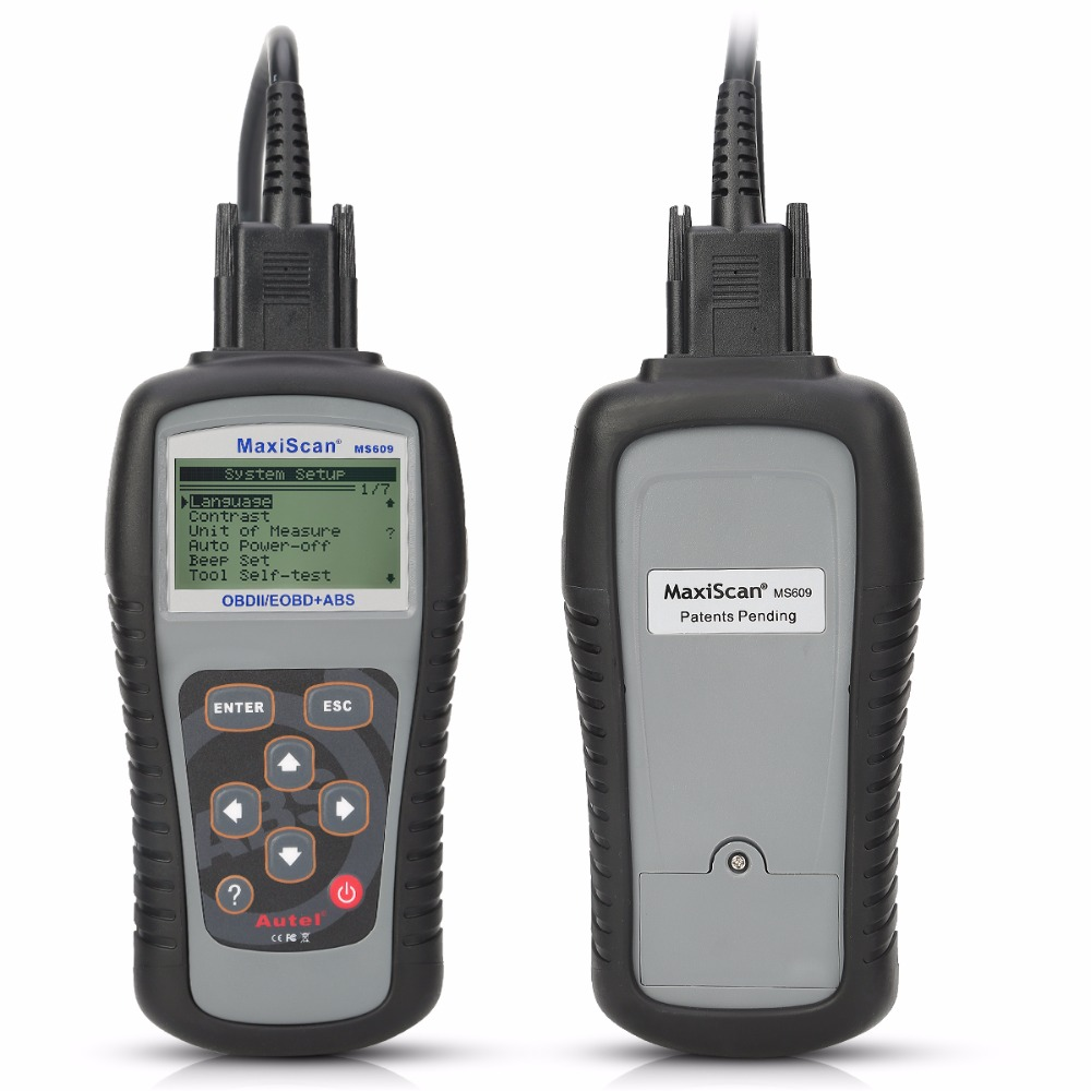 Image 3 - Autel Maxiscan MS609 OBD2 Scanner Code Reader with Full OBD2 Functions ABS Diagnostics DTC Definitions Advanced of MS509 & AL519 on