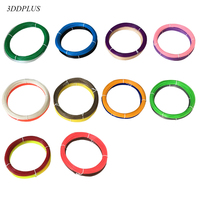 free shipping ABS 1.75MM X 100M Modeling Stereoscopic Print Filament threads wire For 3D Drawing Printer Pen 20 different colors 3D Printing Materials