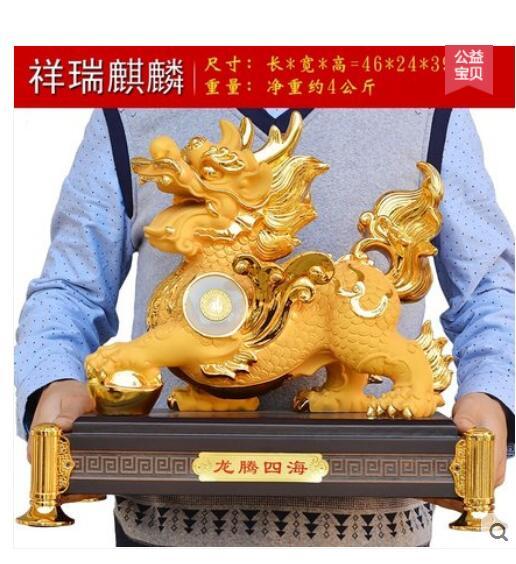 Einhorn Erffnung Geschenk Schreibtisch Feng Shui Phantasie Wohnzimmer DekorationChina