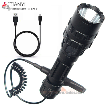 Torch Hunting 18650 Lantern USB Charging Mini Flashlight LED Flashlight Cree XML-T6 3800lm 5 Mode White Tactical flashlight sitemap 165 xml