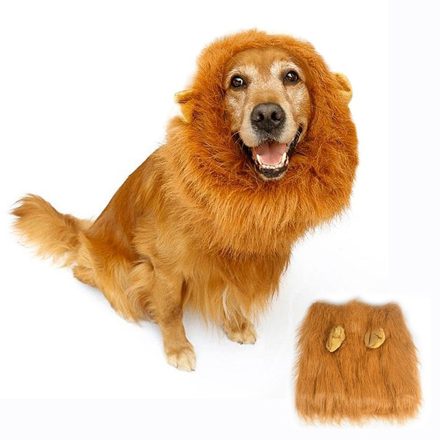 Cute Lion Wig Hats For Medium To Large Sized Dogs Lion Mane Costume For Dog Fancy  sc 1 st  AliExpress.com & Cute Lion Wig Hats For Medium To Large Sized Dogs Lion Mane Costume ...