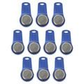 10pcs/lot rewritable RFID Touch Memory Key RW1990 iButton Copy Card Sauna Key