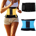 *USPS* 2016 Waist Trainer Cincher Man Women Xtreme Thermo Power Hot Body Shaper Girdle Belt Underbust Control Corset