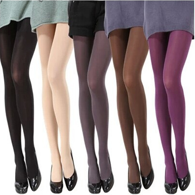 120D Women Velvet Candy Color High Quality Pantyhose 1