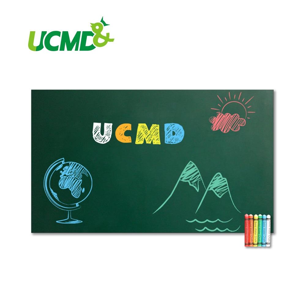 Tableau magnétique auto-adhésif 100x50 cm tableau noir peut contenir des aimants tableaux magnétiques