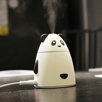 GXZ Cartoon USB Bear Humidifier Aroma Diffuser Ultrasonic Air Humidifiers Mist Maker Mini Desktop Panda Air