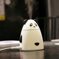 GXZ Cartoon USB Bear Humidifier Aroma Diffuser Ultrasonic Air Humidifiers Mist Maker Mini Desktop Panda Air