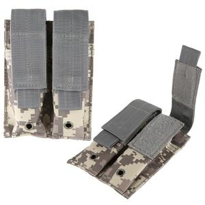 Image 2 - 新外気銃カバーコンバットミリタリーハンティングバッグ 600D ナイロン Molle 2 のハンドガンバッグクローズドレザーケース実用的な